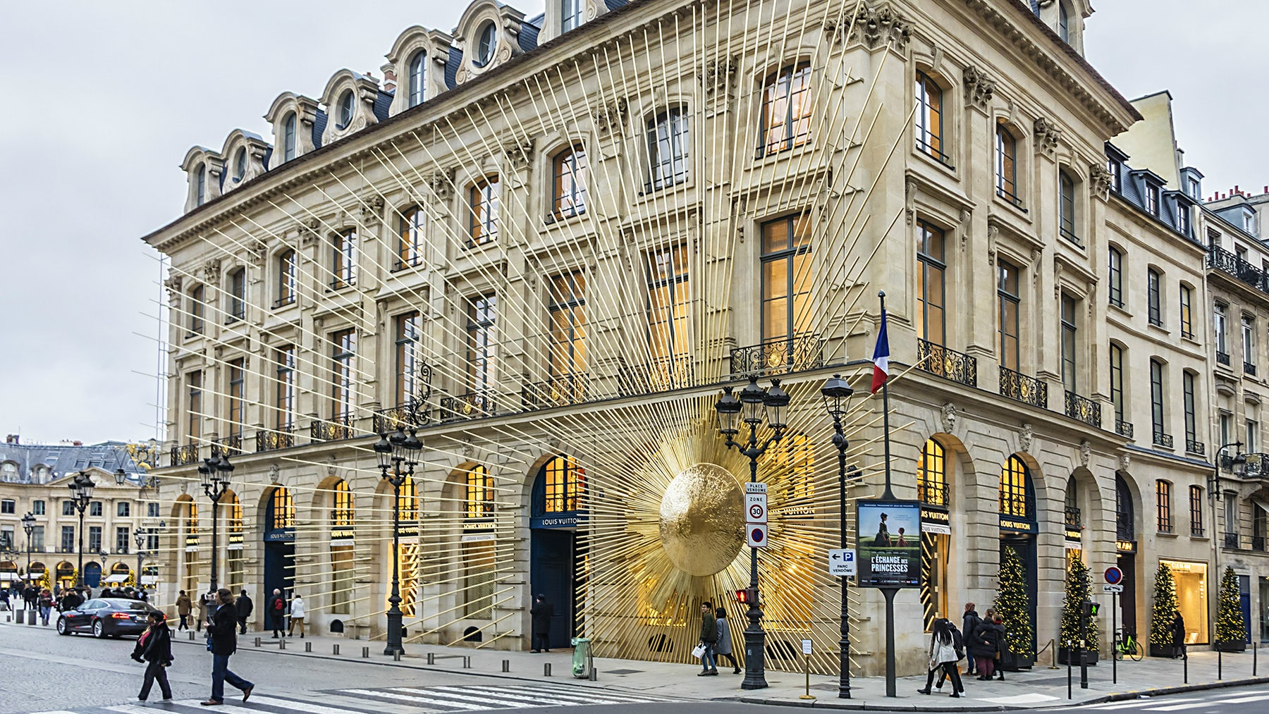 Louis Vuitton store in Paris, France | Source: Shutterstock