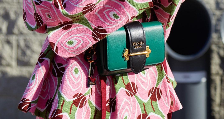 Prada Cahier leather belt bag | Source: Shutterstock