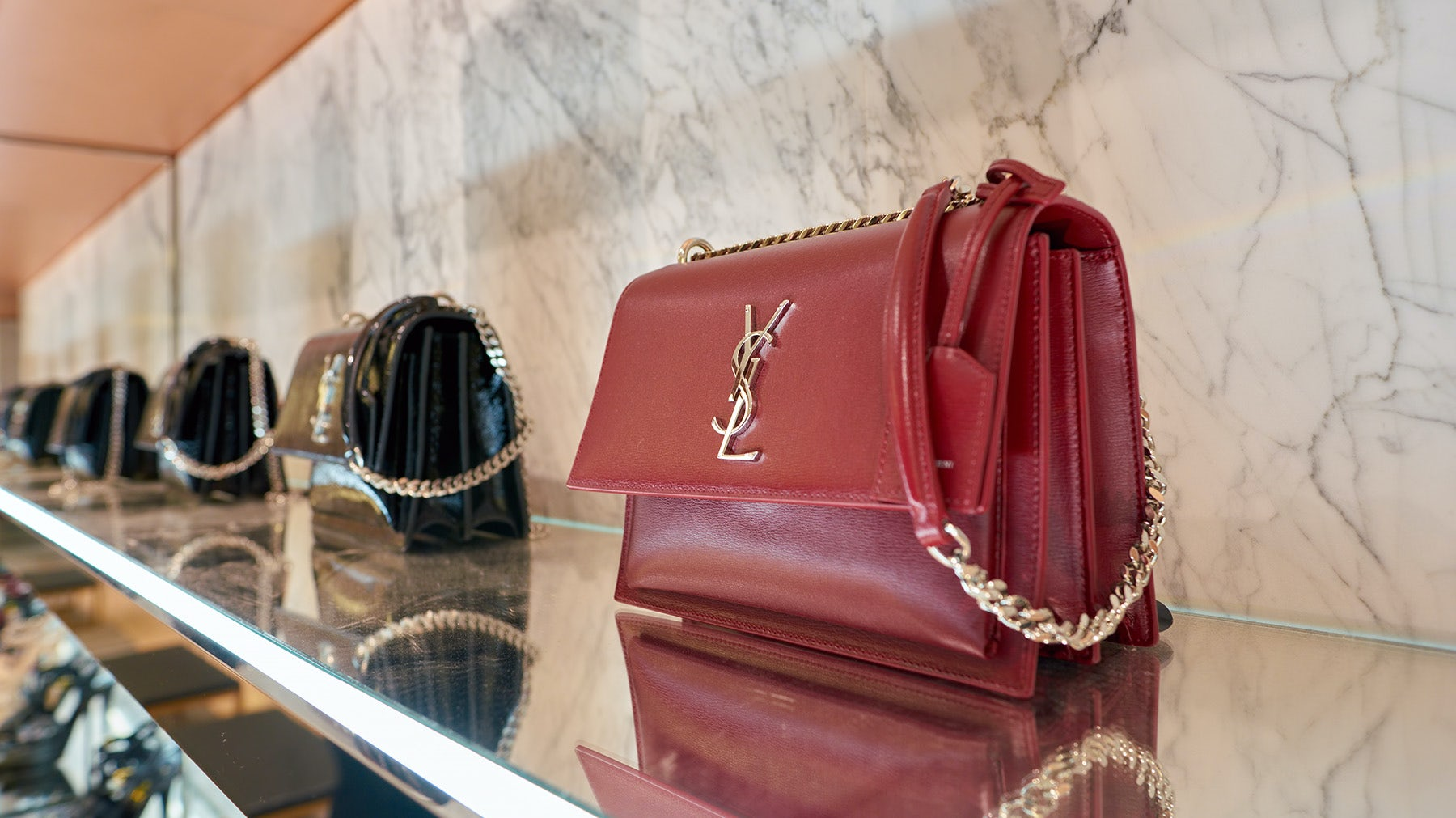 Saint Laurent Launches on JD.com Luxury Platform, Toplife