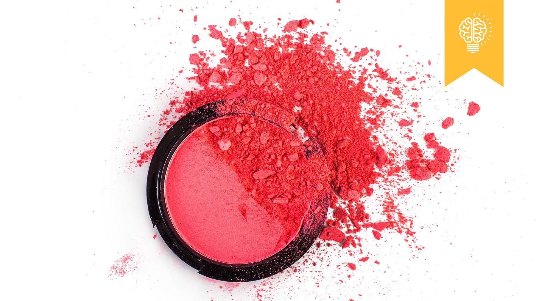 Broken cosmetics   Source: Shutterstock