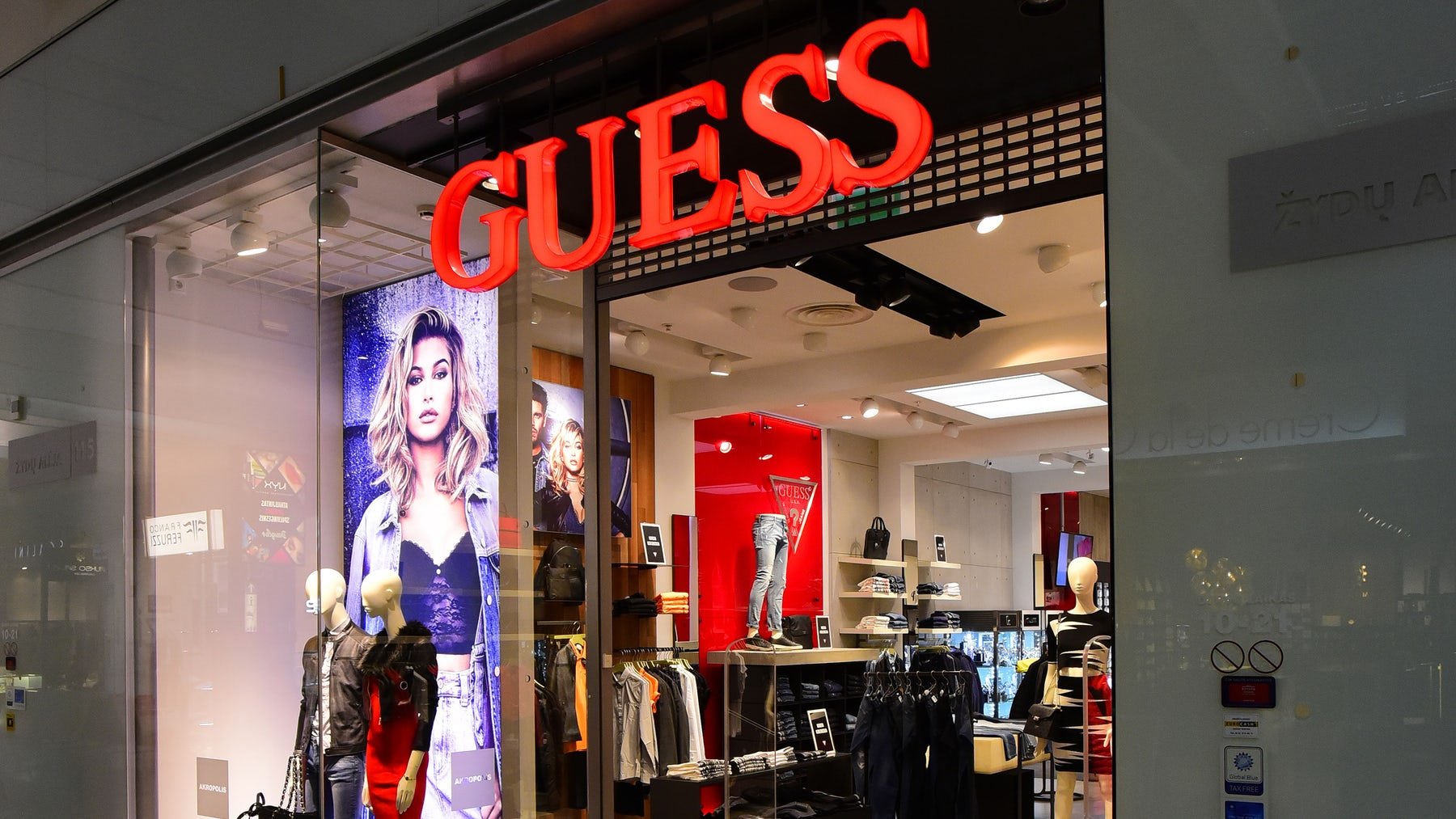 Guess store | Source: Shutterstock