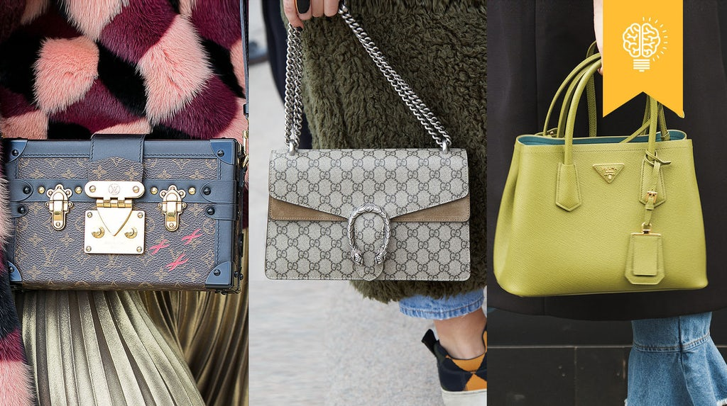 The Handbag Battlefield Louis Vuitton Gucci And Prada
