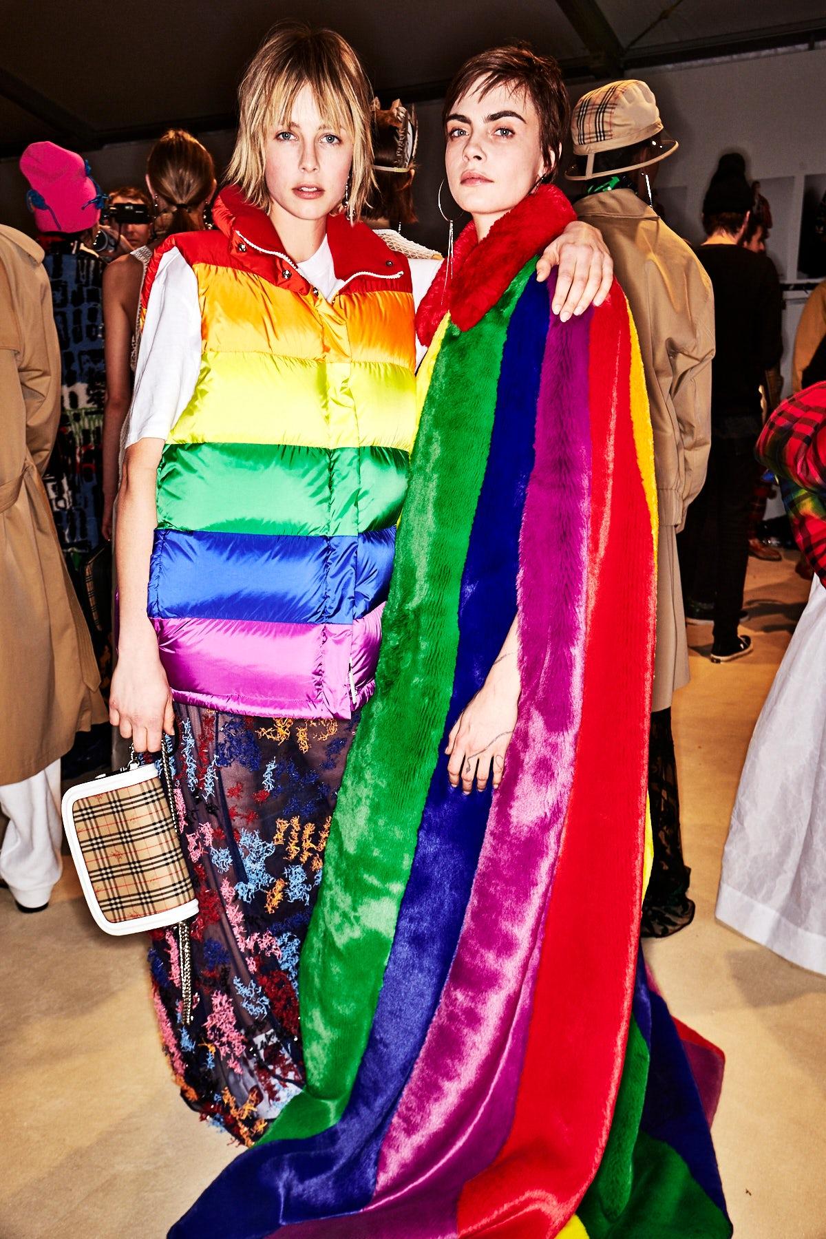 Burberry's LGBTQ+ Statement Was More Than Marketing