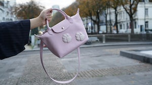 Longchamp collaboration with Mr Bags | Source: Mr Bags