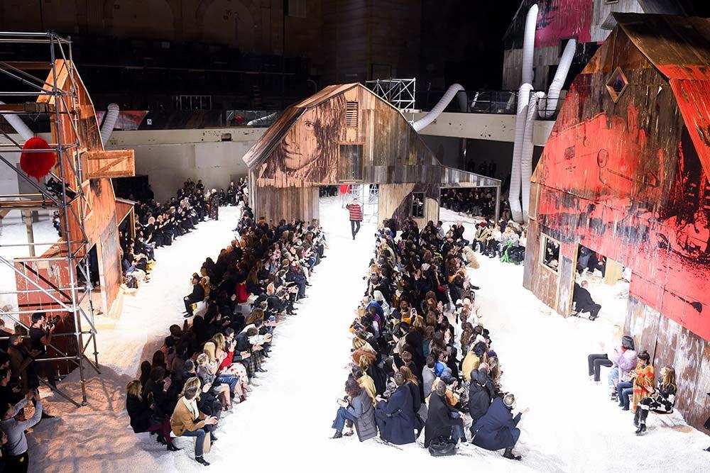 New York Fashion Week's Got the Blues
