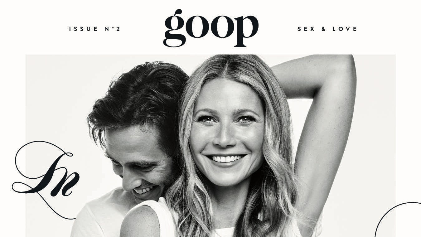 The second issue of the Goop magazine | Source: Courtesy