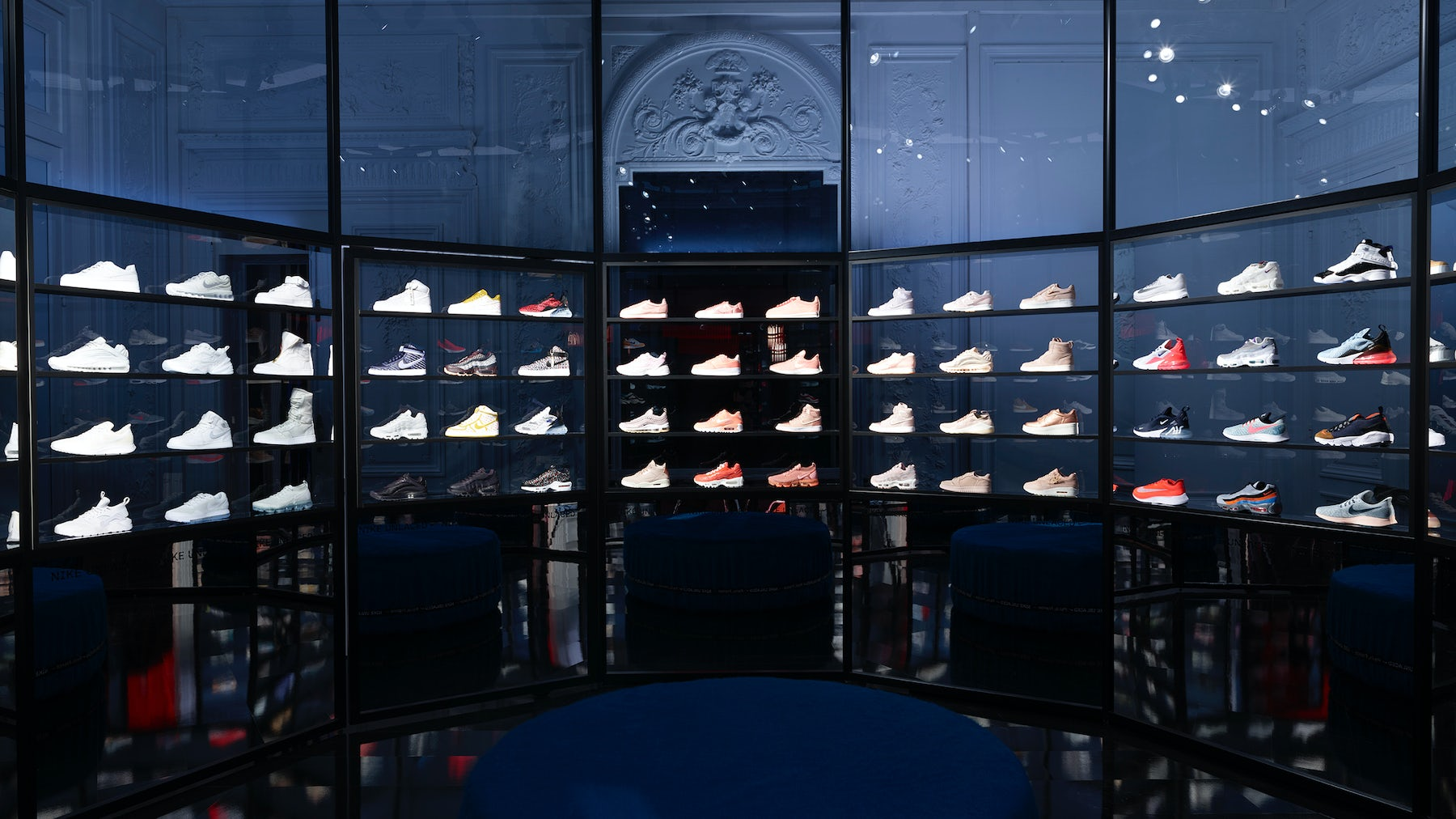 Nike's Unlaced Concept Space in Paris   Source: Courtesy