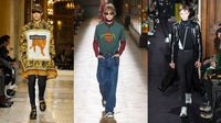 Versace, Dior Homme and Valentino Autumn 2018 | Source: Inditex