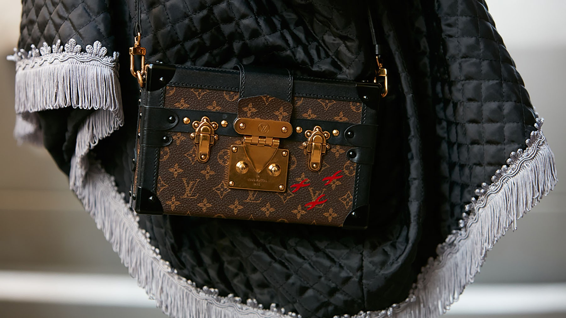 Louis Vuitton 'Petite Malle' bag | Source: Shutterstock