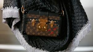Louis Vuitton 'Petite Malle' bag | Source: Shutterstock