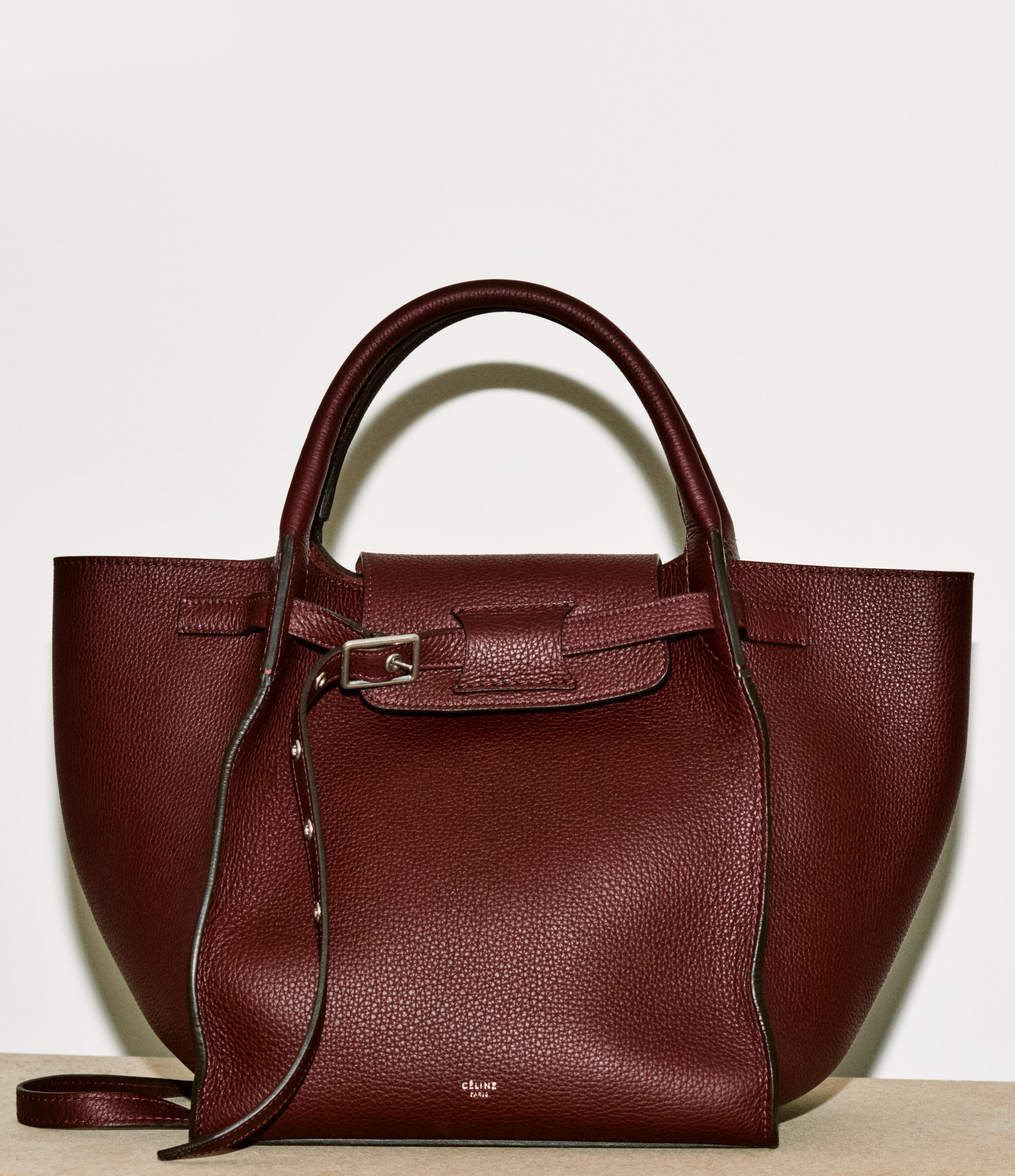 A Céline handbag part of the 5-piece capsule collection