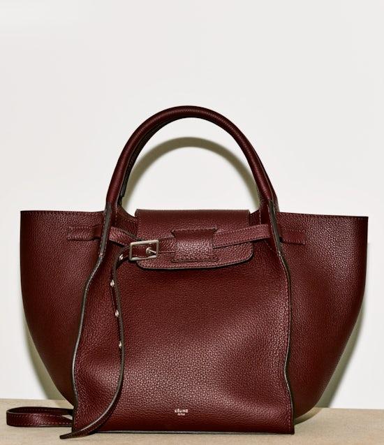 A Céline handbag part of the 5-piece capsule collection