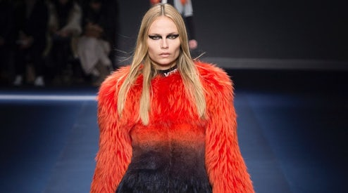 9467ef0a9 A look from Versace s Autumn Winter 2017 collection