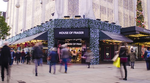 30a953c364da House of Fraser to Close 31 Stores