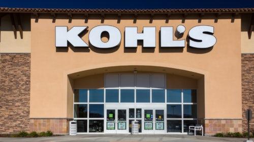 Kohl's retail storefront