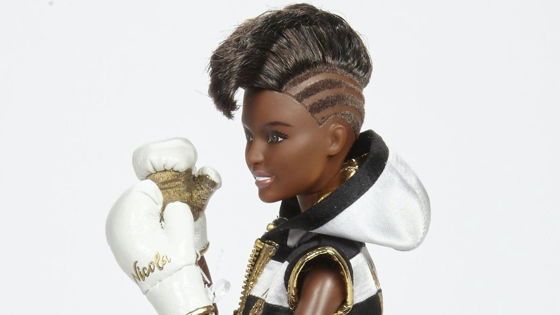 'Boxer Barbie' honouring boxing champion Nicola Adams | Source: Barbie
