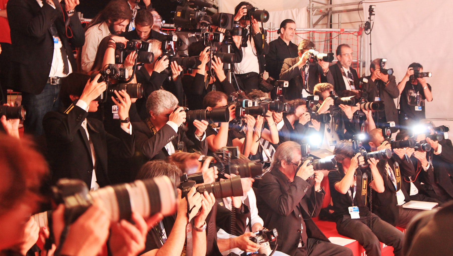 Photographers on the red carpet | Source: Shutterstock