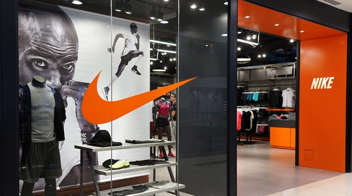 online retailer f8f66 0843b Nike Investors Cheer First North America Sales Gain Since ...