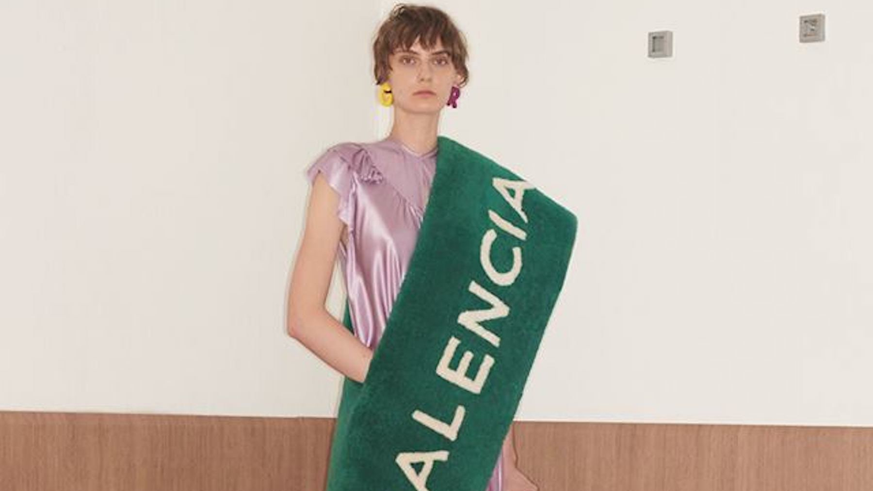 Balenciaga Resort 2018 Collection | Source: Balenciaga
