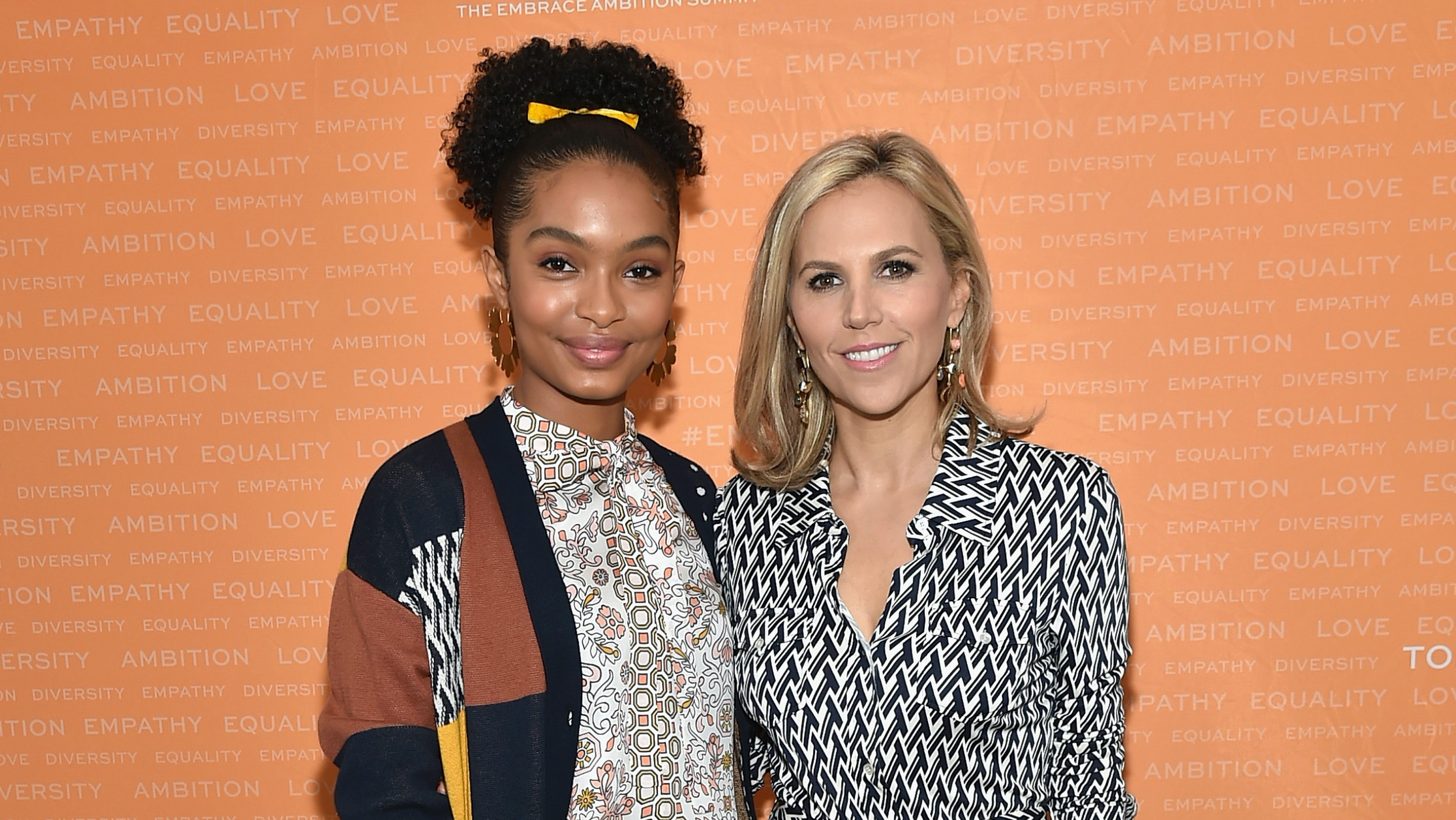Tory Burch with Yara Shahidi | Source: Getty Images