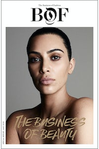 Kim Kardashian West covers BoF's The Business of Beauty report