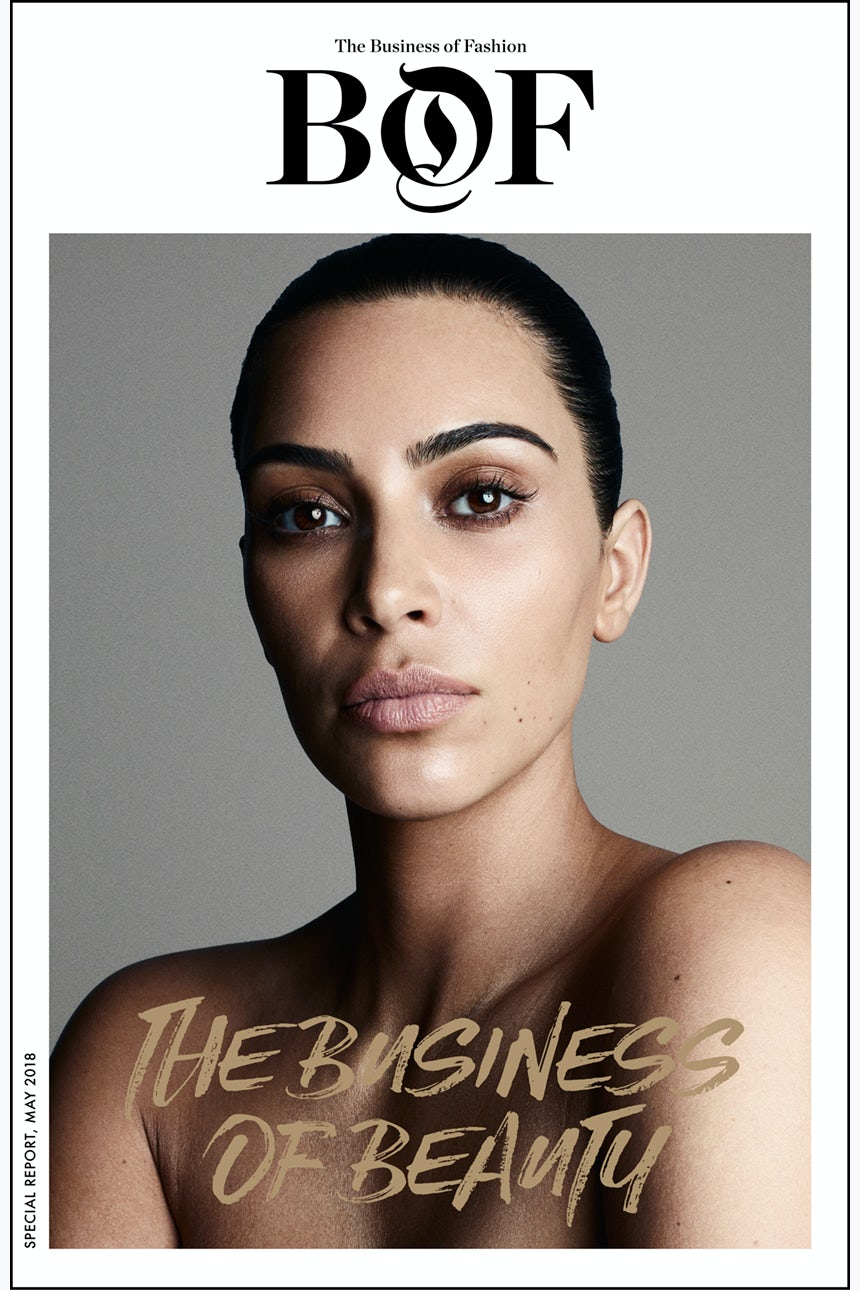 Kim Kardashian West Covers BoFu0027s The Business Of Beauty Report. Letter From  The Editor