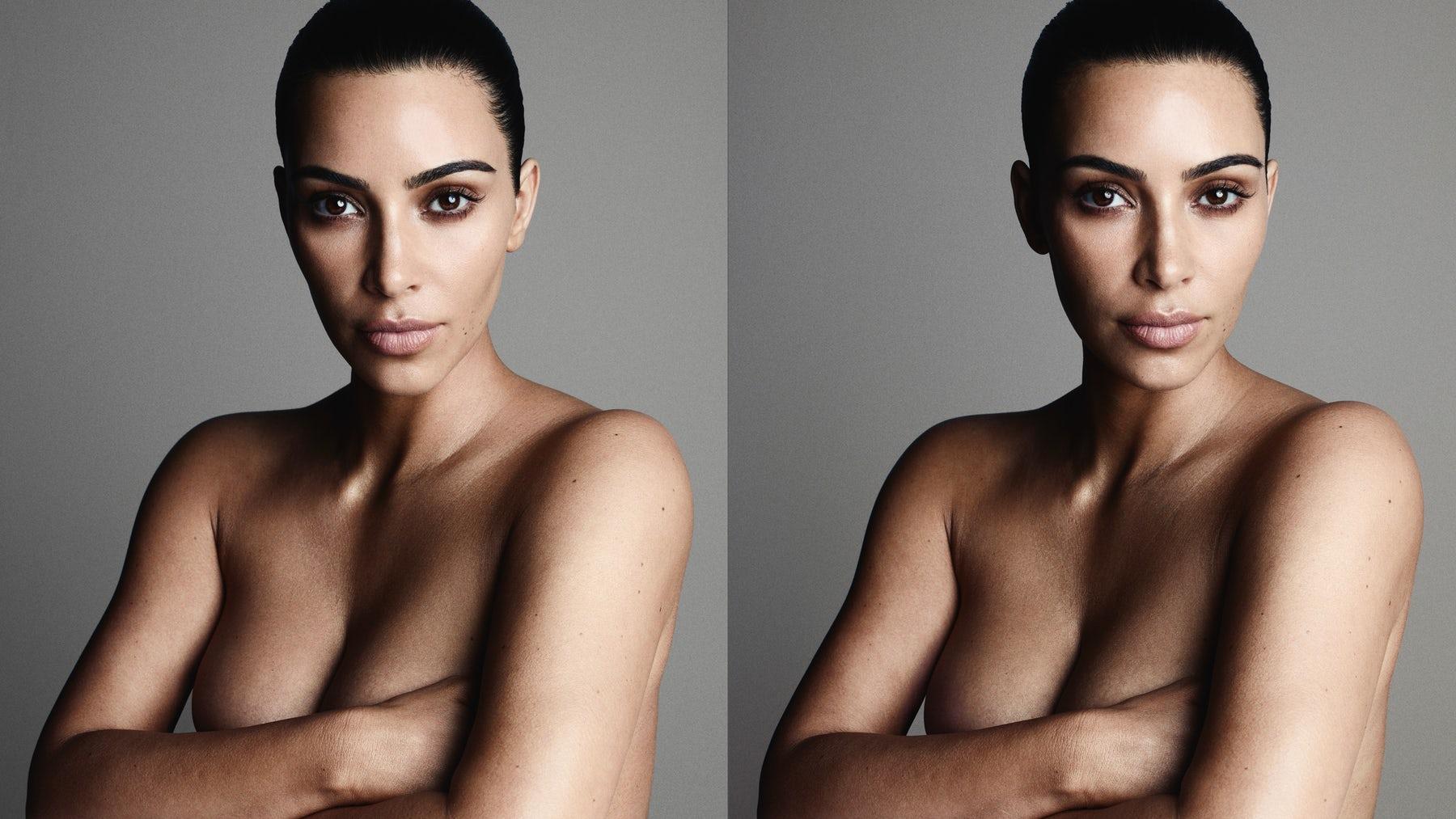 Kim Kardashian by Ben Hassett for BoF
