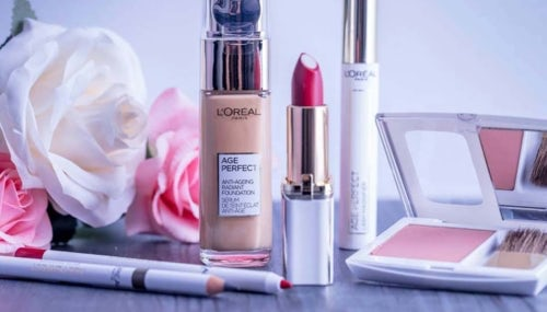 L'Oréal cosmetics beauty products