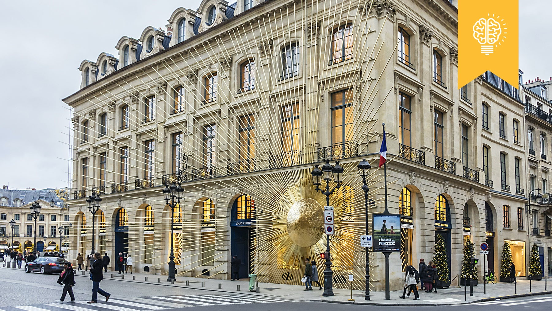 Louis Vuitton's Place Vendome flagship store | Source: Shutterstock