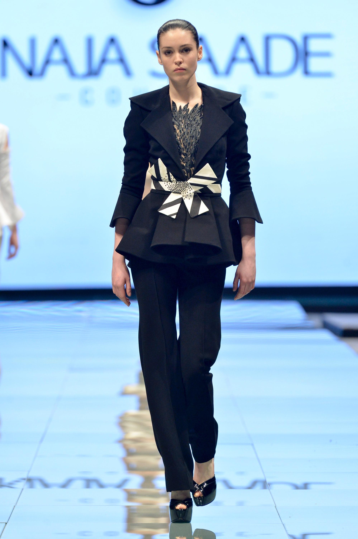 Naja-Saade runway at the Arab Fashion Council