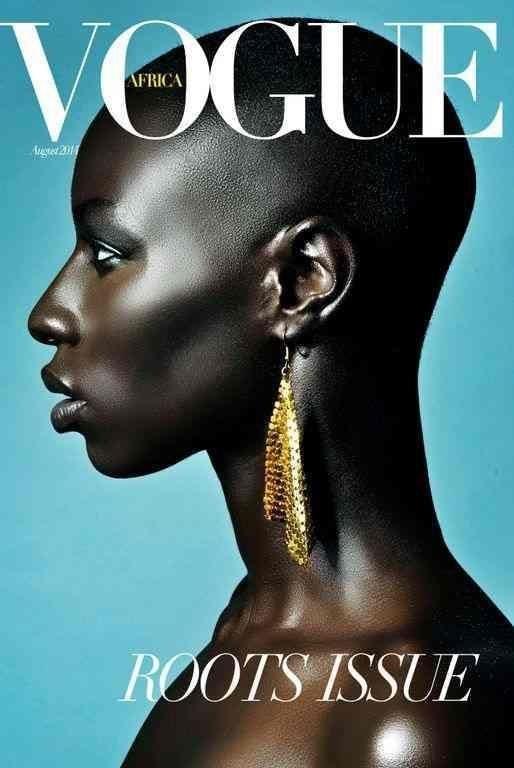 A fictional interpretation of Vogue Africa by Mario Epanya