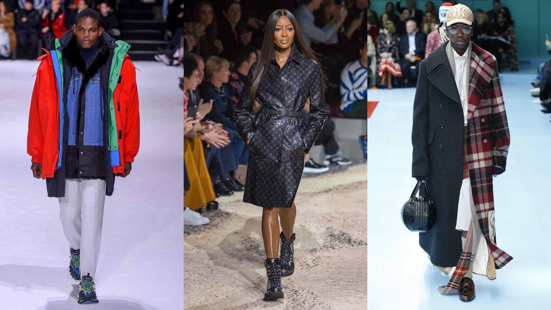 (L-R) Balenciaga, Louis Vuitton and Gucci | Source: InDigital