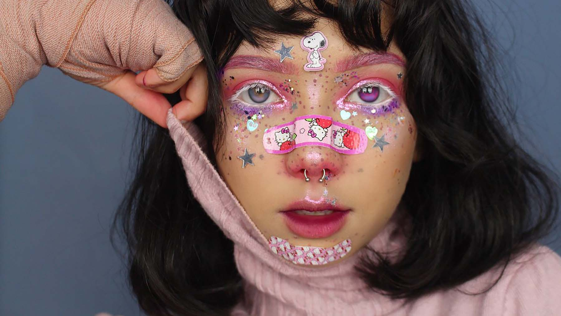A 'yami-kawaii' look by June Crees | Source: Courtesy of June Crees