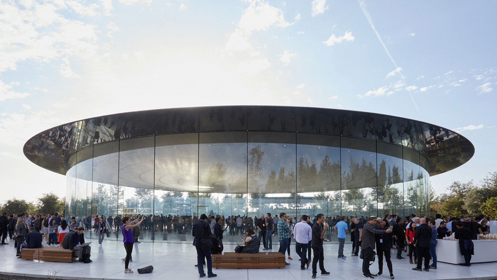 Steve Jobs Theatre at Apple Park | Source: Courtesy