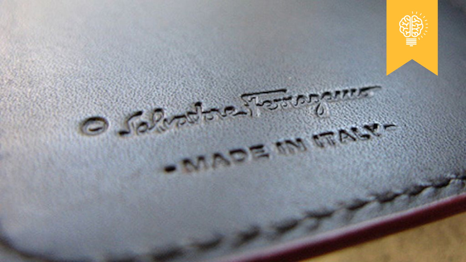 A 'Made in Italy' label | Source: BoF
