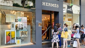A Hermès store in Hong Kong | Source: Shutterstock
