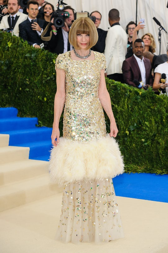 Anna Winter attends the 2017 Met Gala