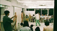 Nude life drawing classes at Coconogacco in Tokyo | Photo: Chikashi Suzuki