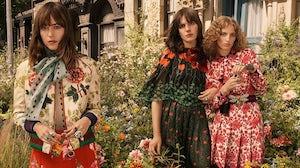 Gucci Bloom campaign ft. Dakota Johnson, Petra Collins and Hari Nef | Source: Gucci