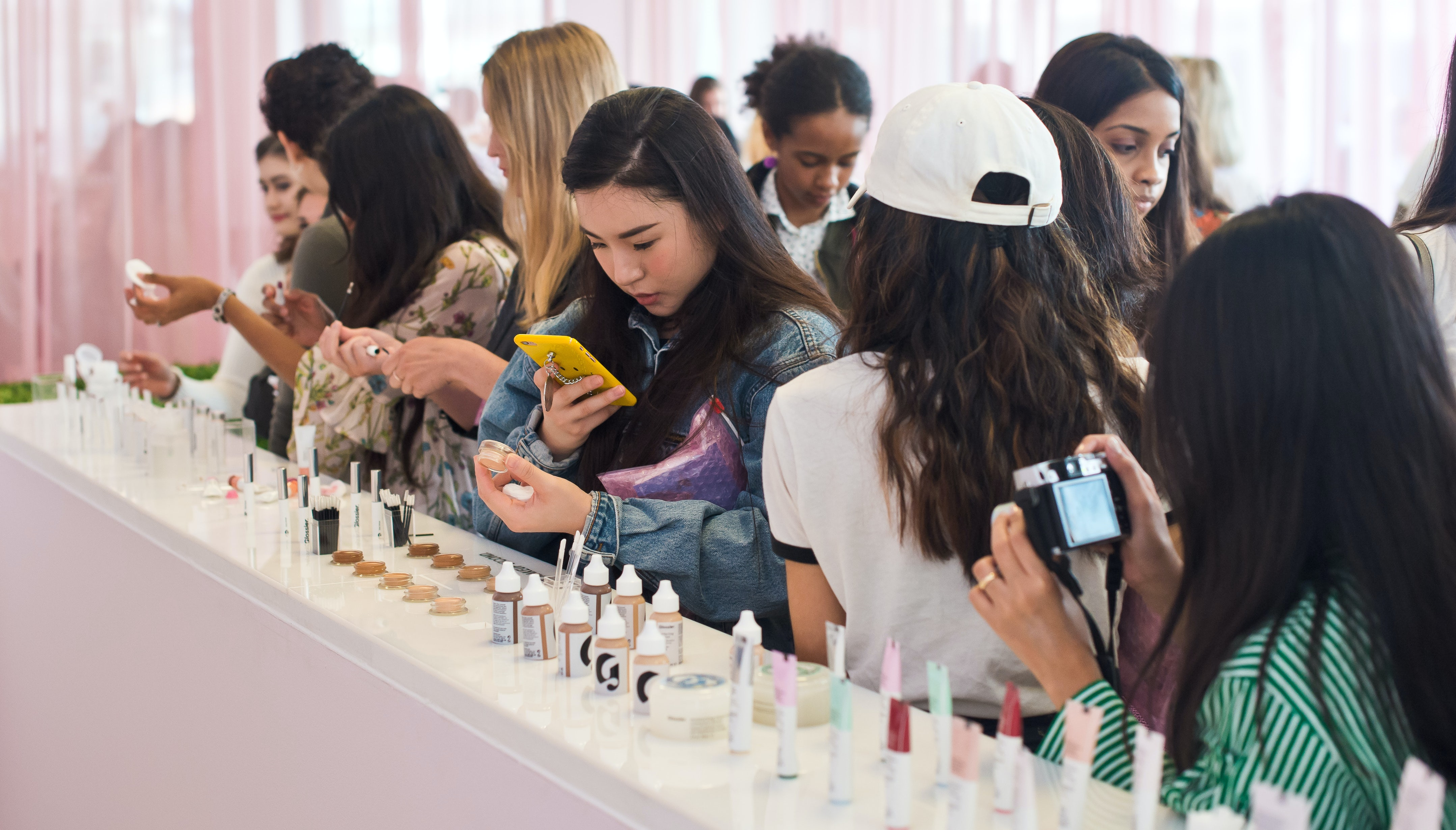 Glossier's London pop-up shop | Source: Courtesy