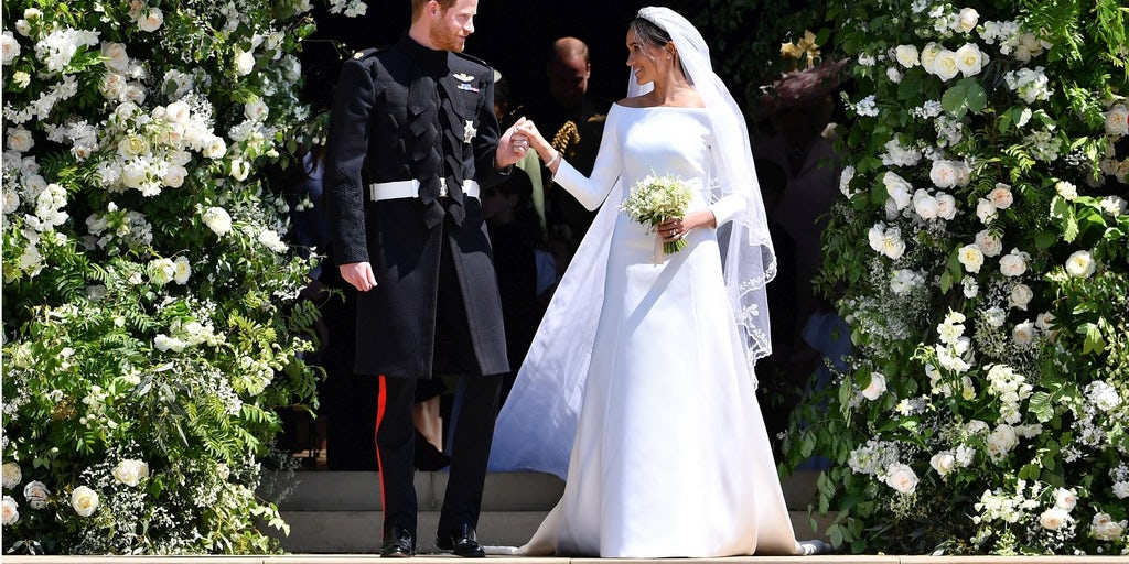 Meghan Markle Weds in Givenchy by Clare Waight Keller | News ...