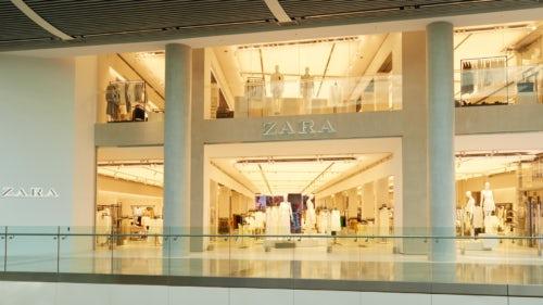 Zara store in Stratford, London