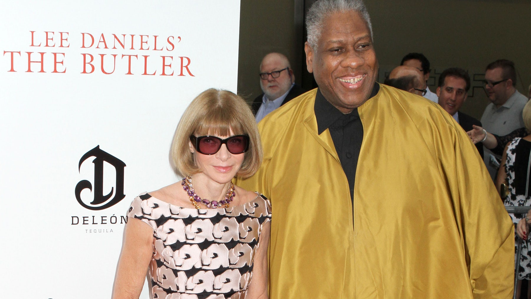 Anna Wintour and André Leon Talley | Source: Shutterstock
