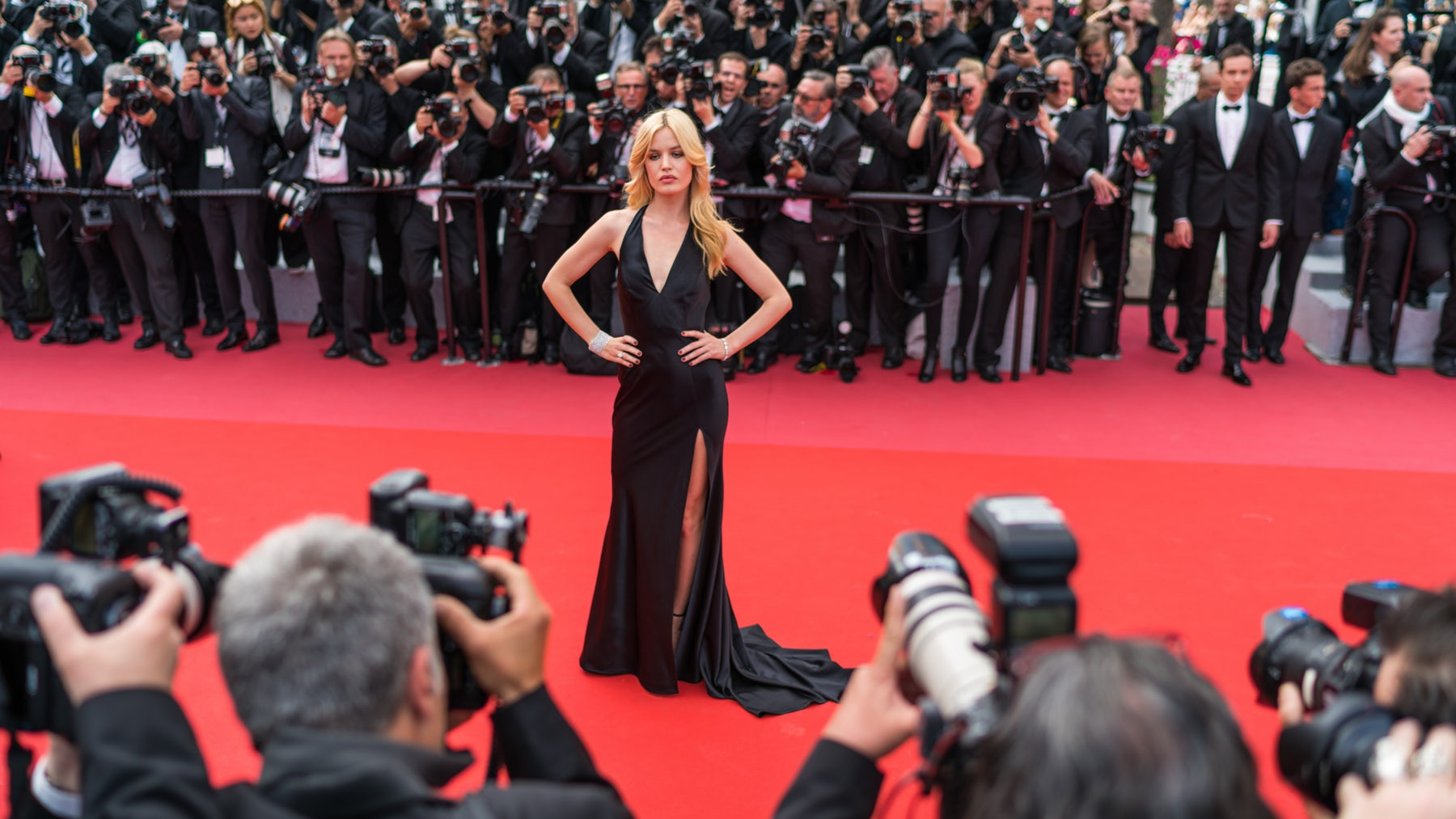 Georgia May Jagger at the 71st annual Cannes Film Festival | Source: Shutterstock