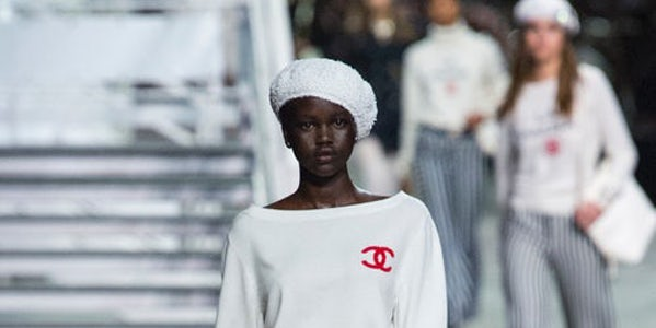 Karl Lagerfeld Brings A Curious Decadence To Chanel Cruise Fashion