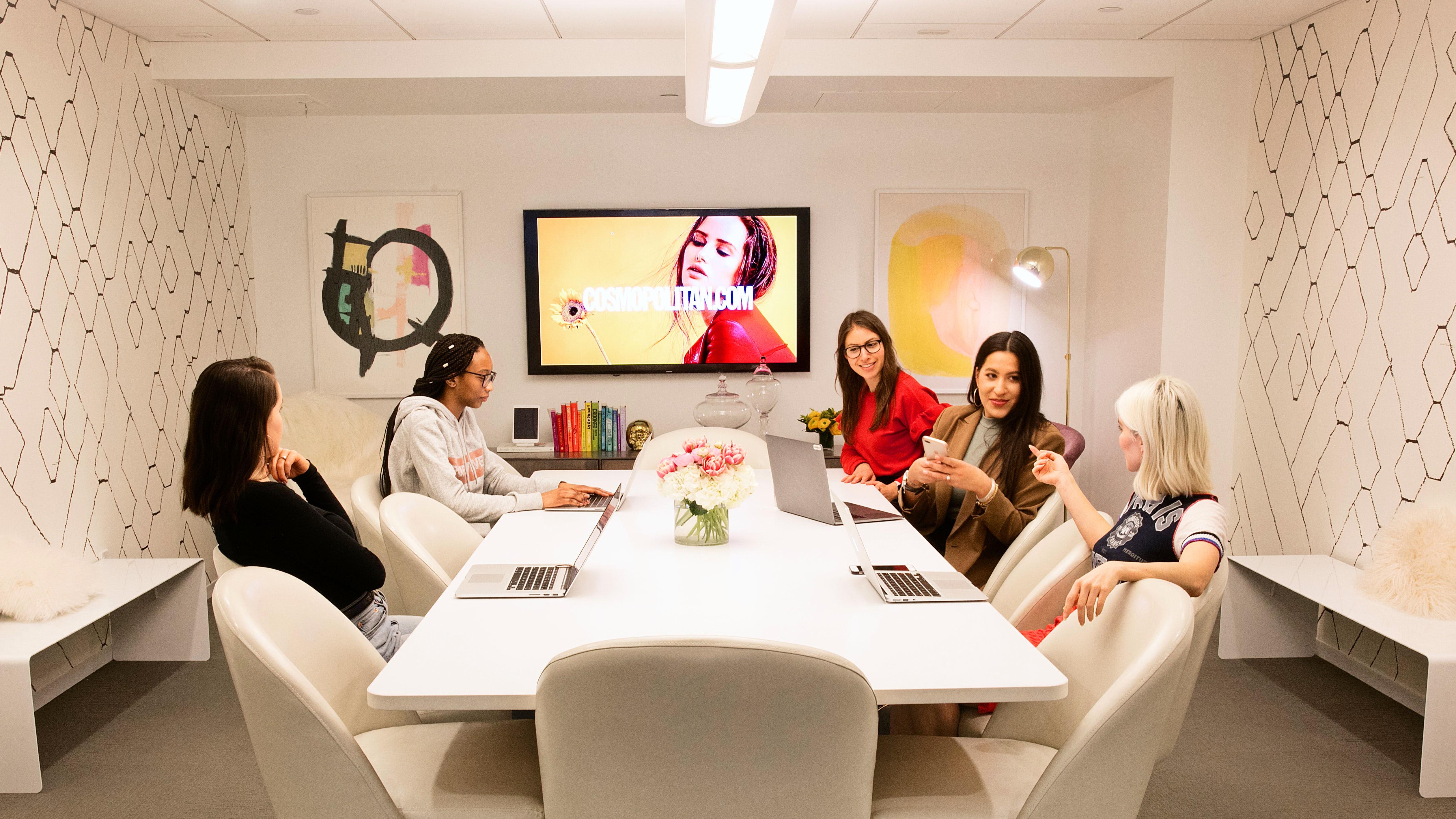 Cosmopolitan.com's conference room | Source: Courtesy