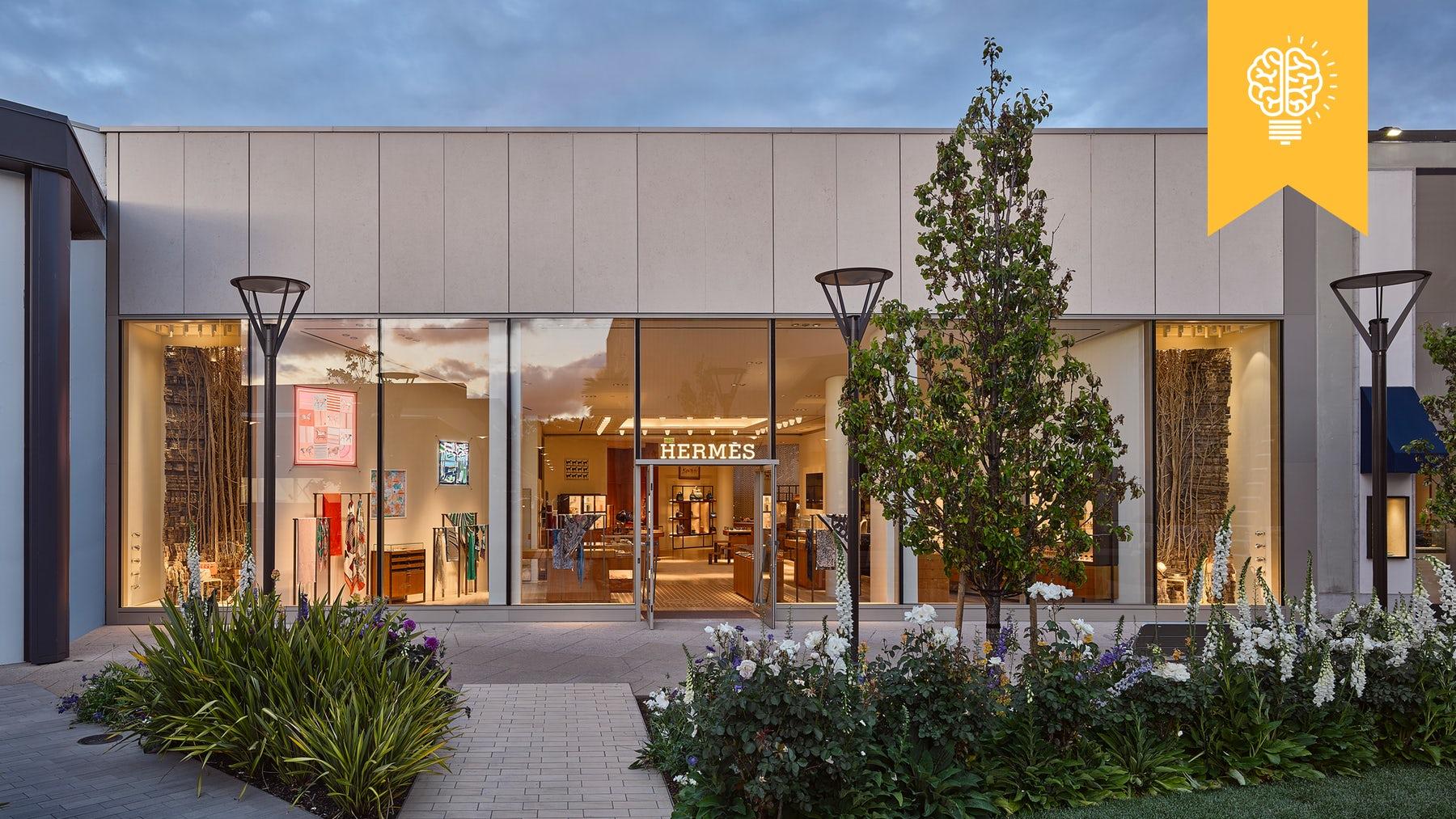 Hermès Palo Alto boutique | Photo: Frank Oudeman