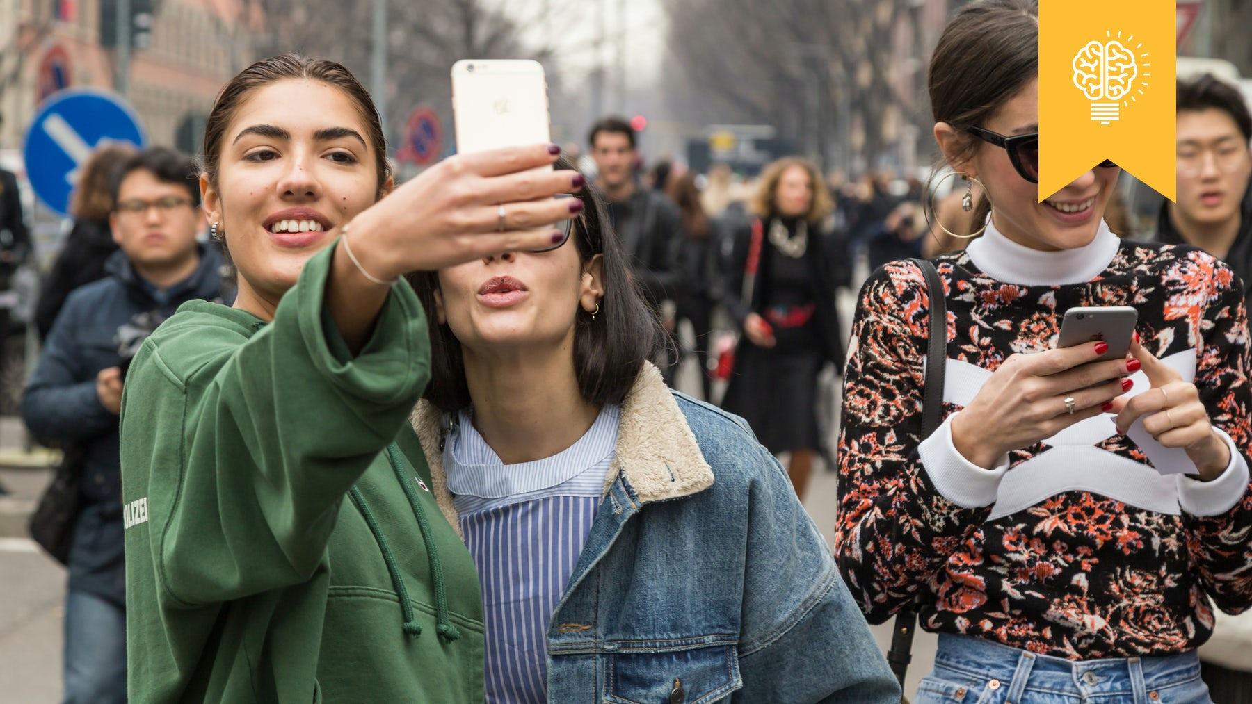 Influencers taking selfies in Milan | Source: Shutterstock
