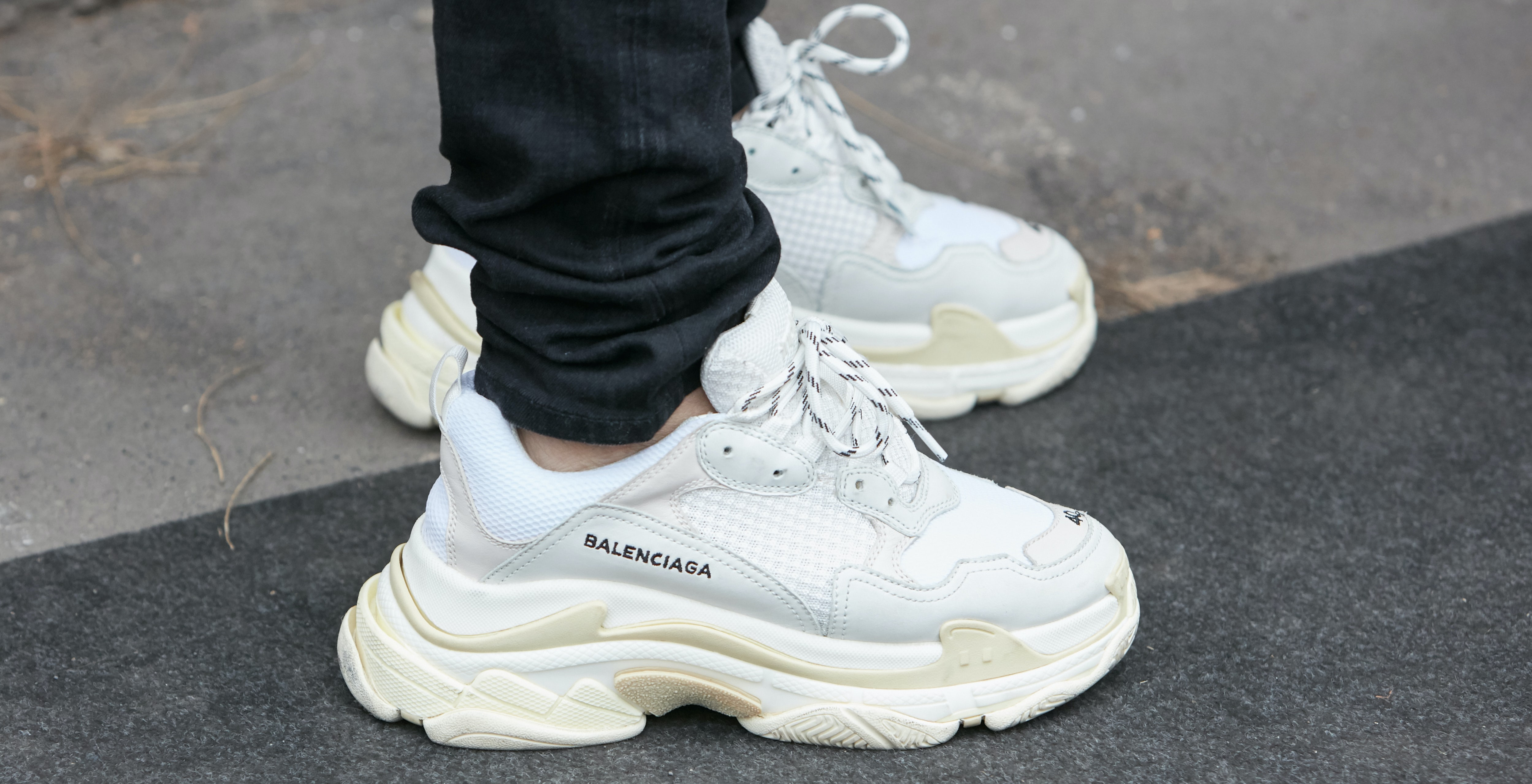 The Clunky, Ugly Dad Shoe Gives Sneaker
