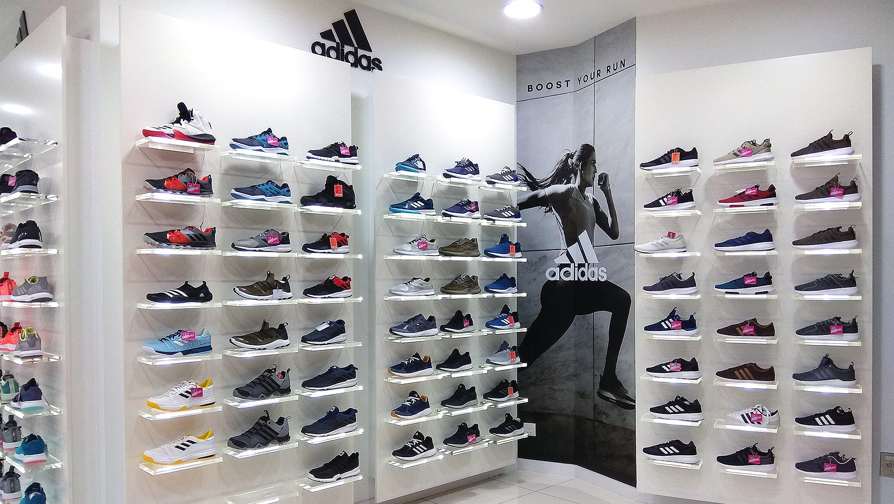 Adidas Targets Customisation With In,Store Shoe Printing
